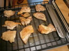 花丘建設ブログ-鶏のグリル焼
