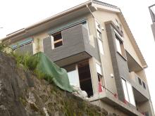 花丘建設ブログ-崖の上の家