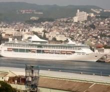 花丘建設ブログ-外国船