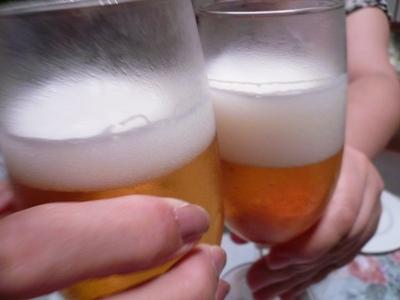 花丘建設ブログ-乾杯