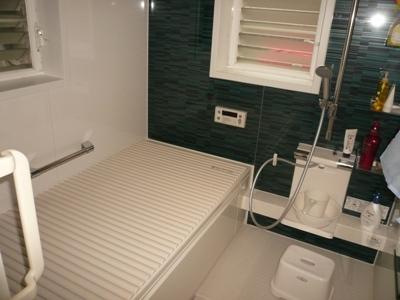 花丘建設ブログ-工事後浴室