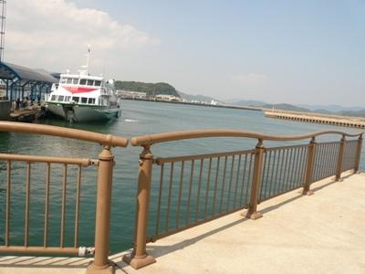 花丘建設ブログ-福江港桟橋