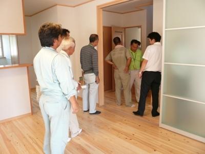 花丘建設ブログ-社内検査3