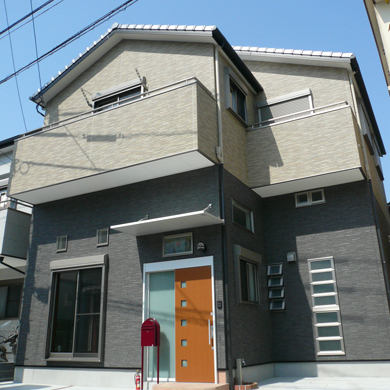 機能的な蔵の家