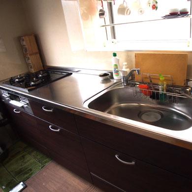 キッチン お風呂場 H邸