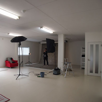 写真スタジオ改装