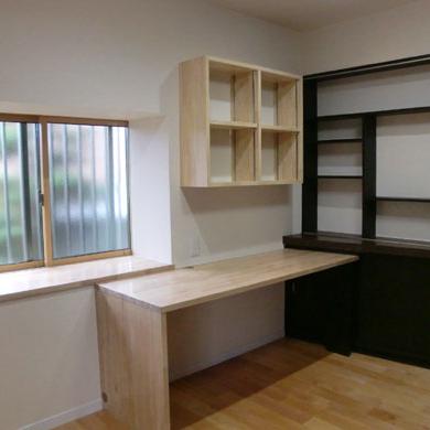 寝室・書斎の改装
