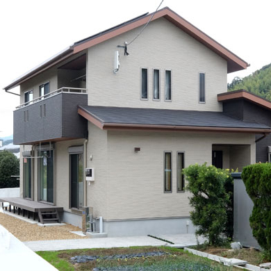 西時津の家