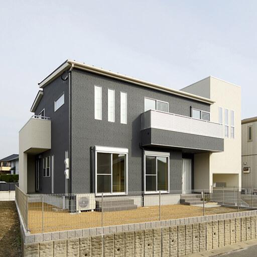 三層構造の家