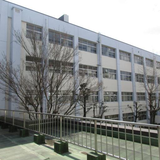長崎東高校第2校舎棟外部改修
